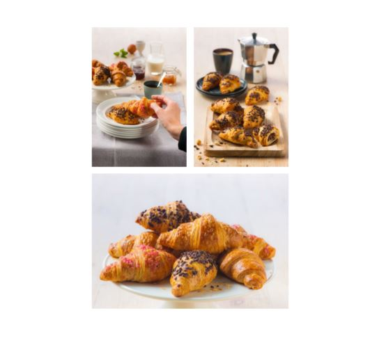 Mini croissants mix